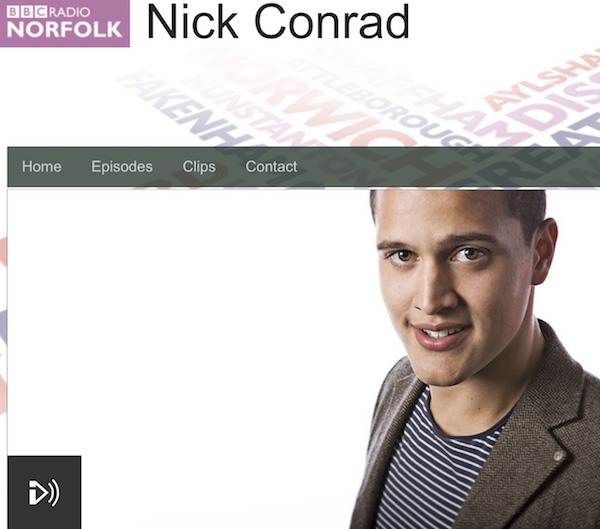 (Screenshot) BBC Radio Norfolk, Nick Conrad show. Dr Jo Veltman speaks for CHAIN at around 52:30