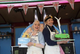 Emma and Sophie Thompson's Frack-Free Bake Off